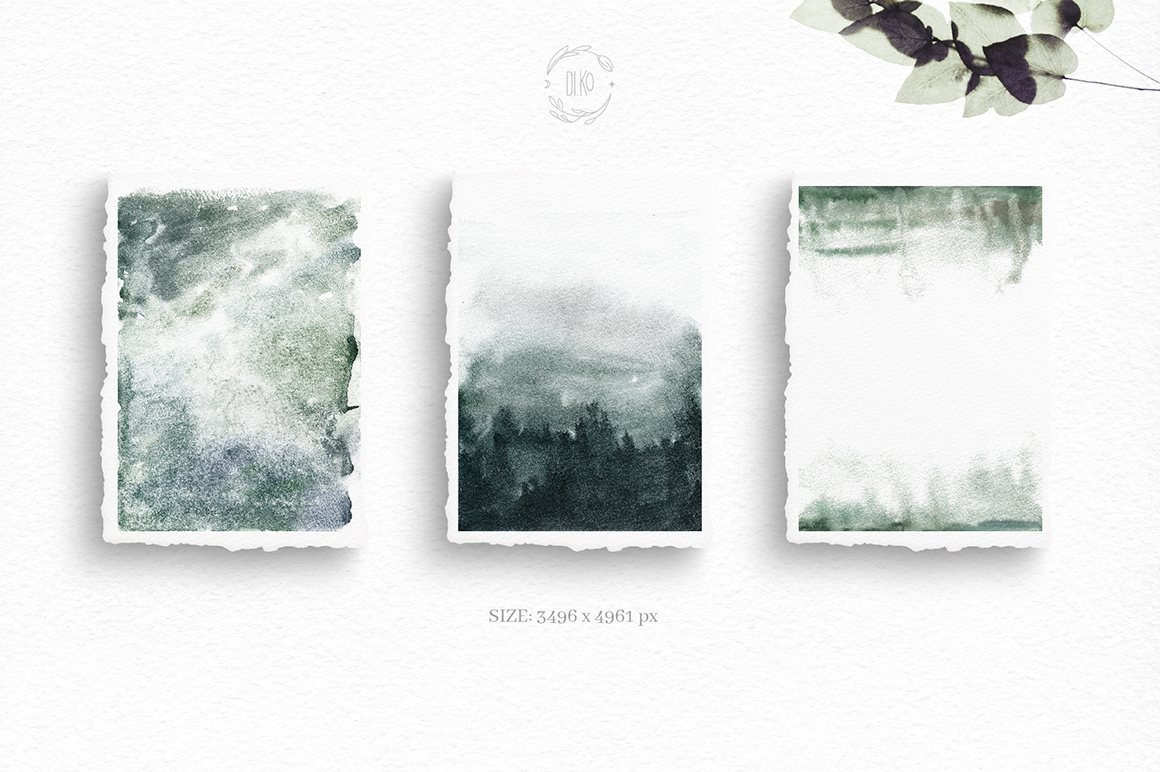 Gloomy fairytale graphic collection. example image 10