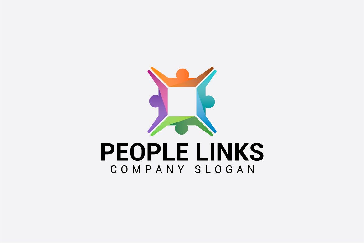 PEOPLE LINKS logo example image 4