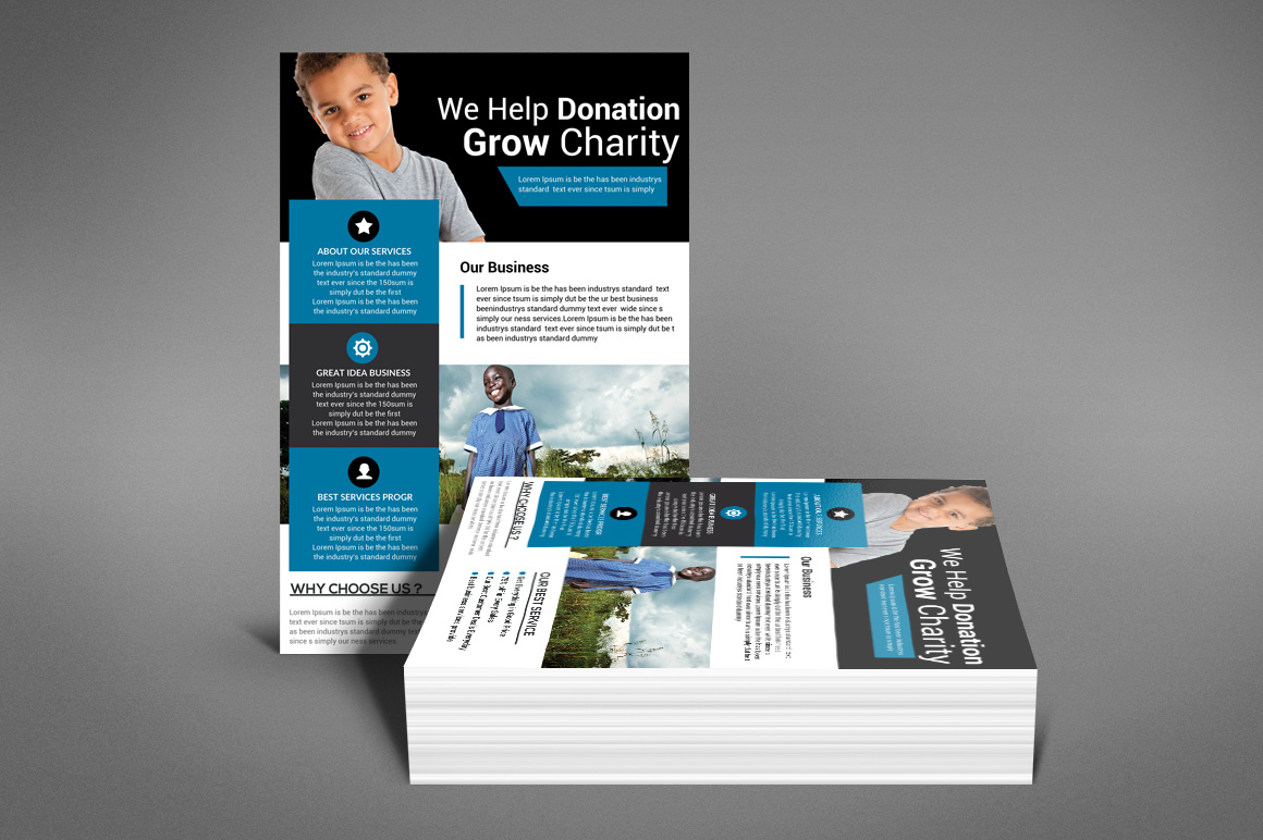 Charity Fundraisers Flyer example image 3