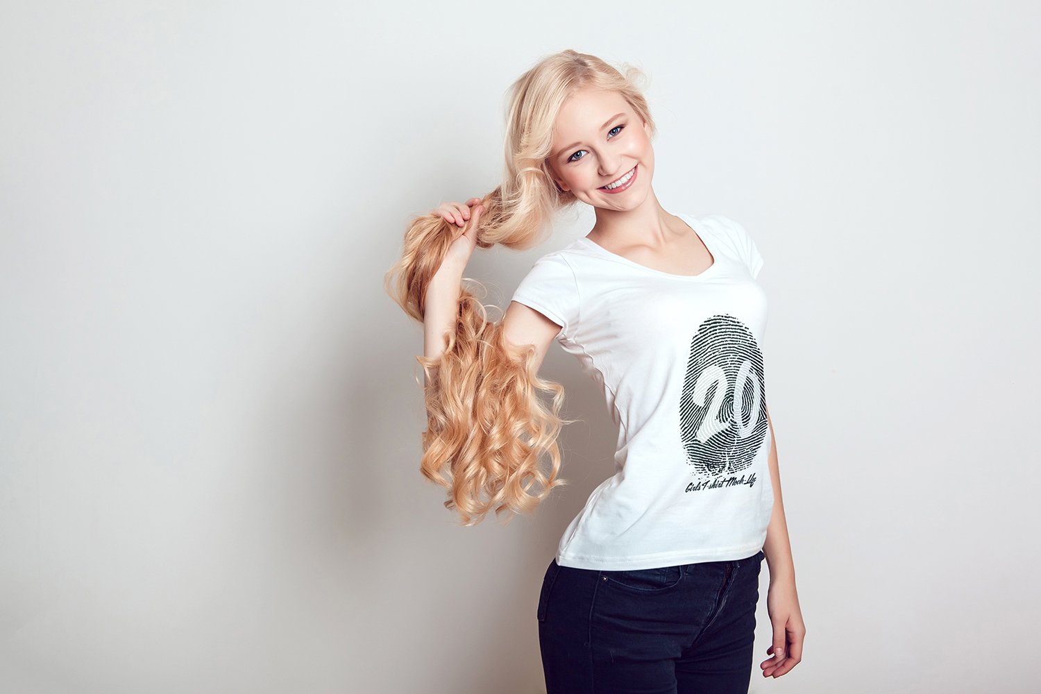 20 Top Girls T-Shirt Mock-Up example image 25
