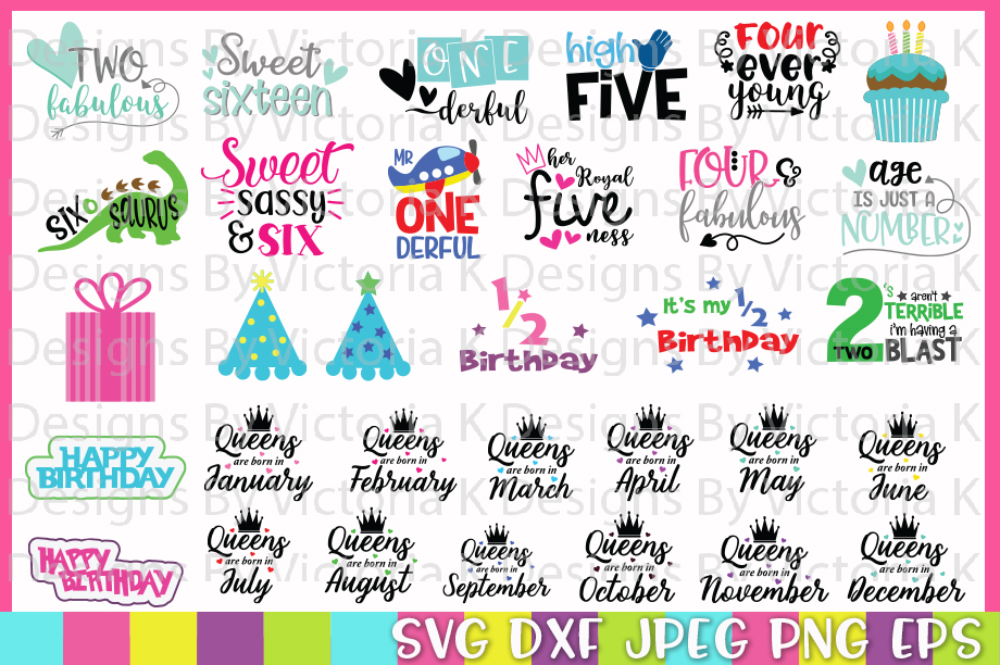 The Huge SVG Bundle, 500 Cutting files, SVG, DXF,PNG example image 9