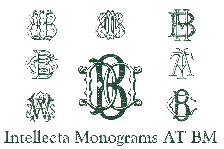 IntellectaMonograms AT BM example image 4