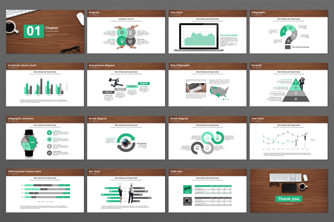 Office Supplies Template example image 2