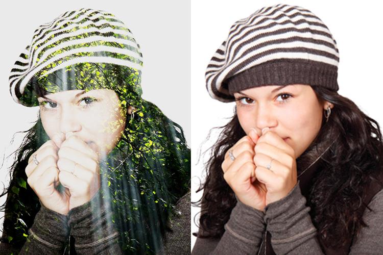 Double Exposure V1 Photoshop Action example image 6