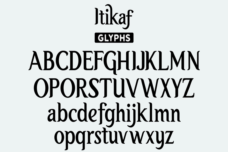 Itikaf - Religious Serif Font example image 9