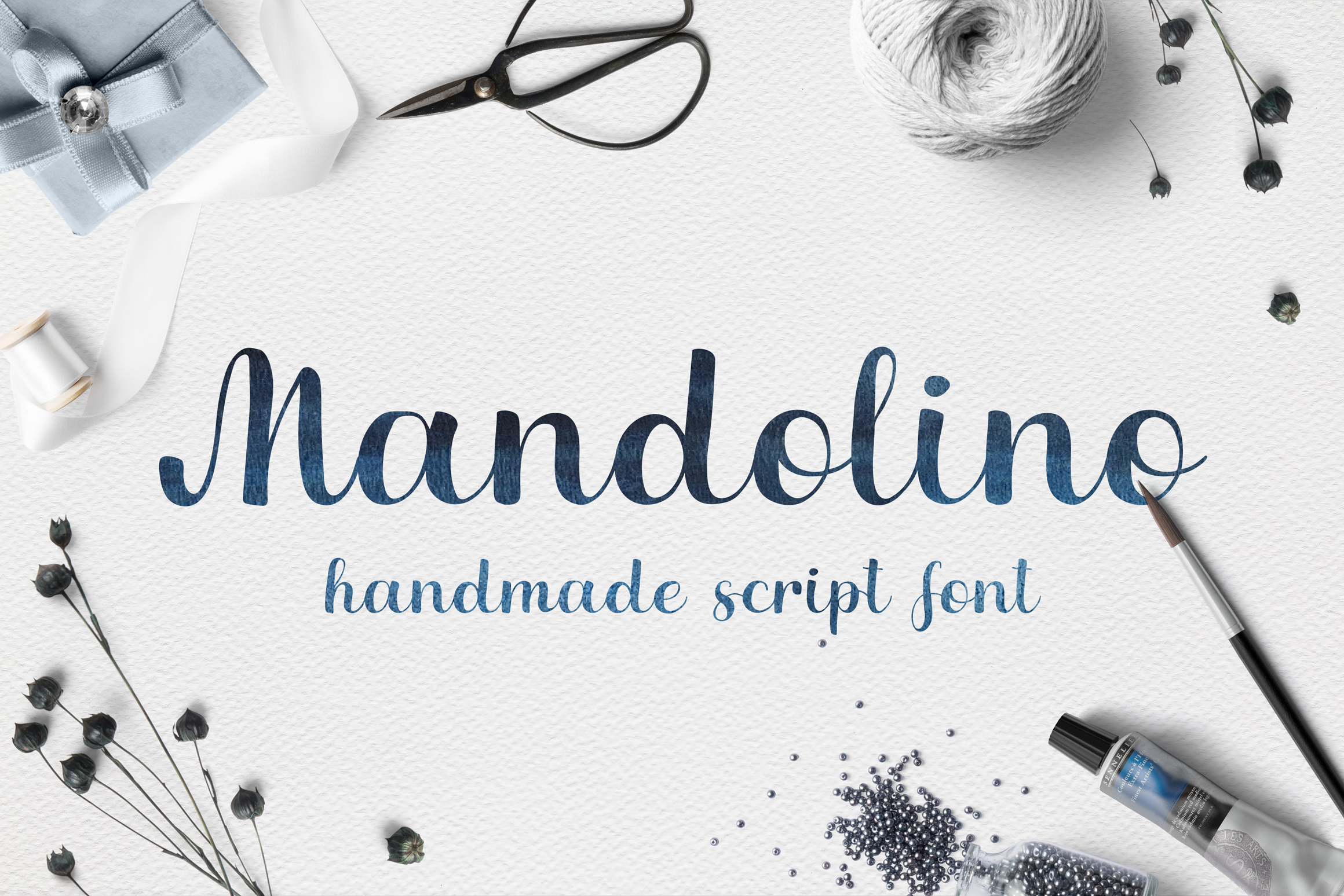 Mandolino - fun script font example image 1