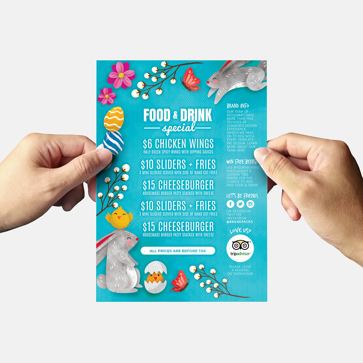 Easter Flyer Templates example image 5