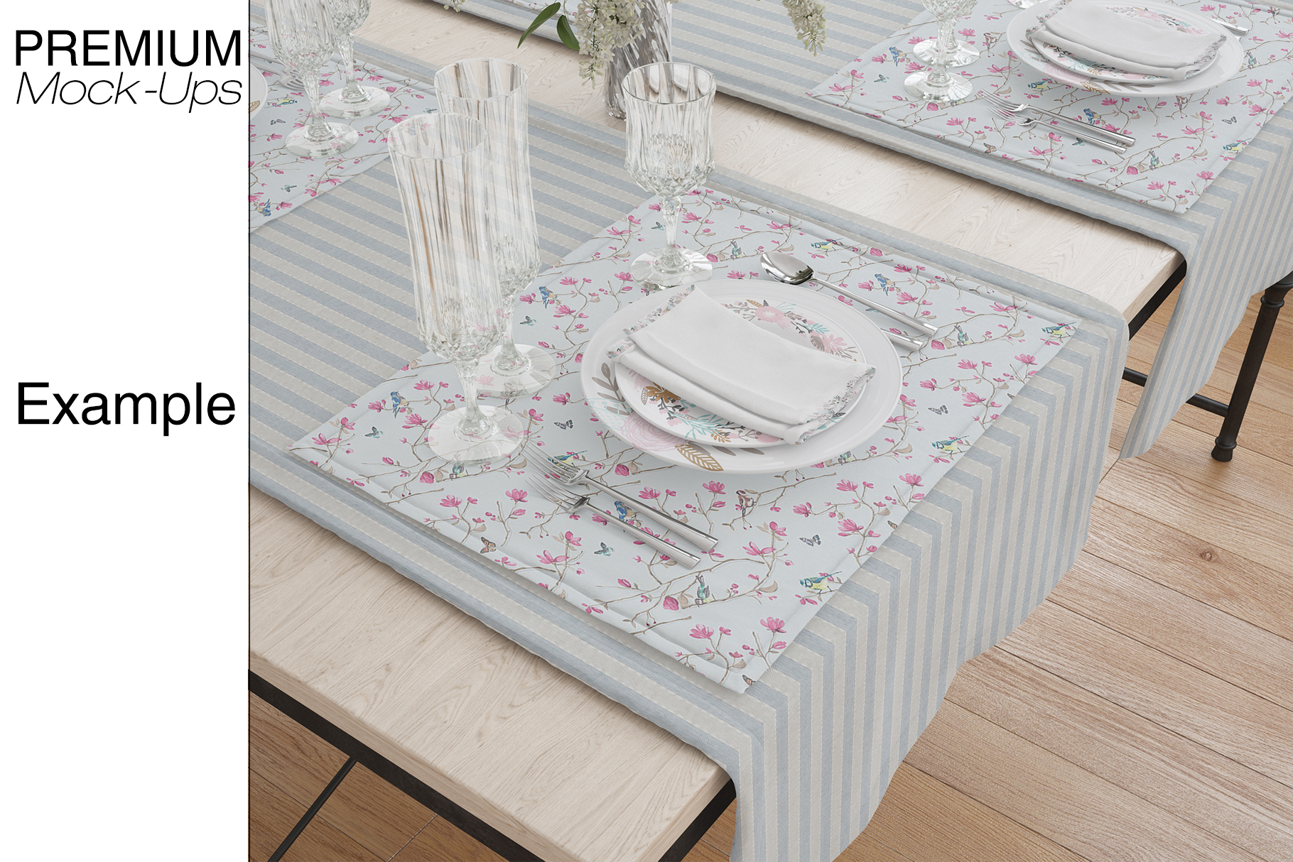 Tablecloth, Runner, Napkins & Plates example image 15