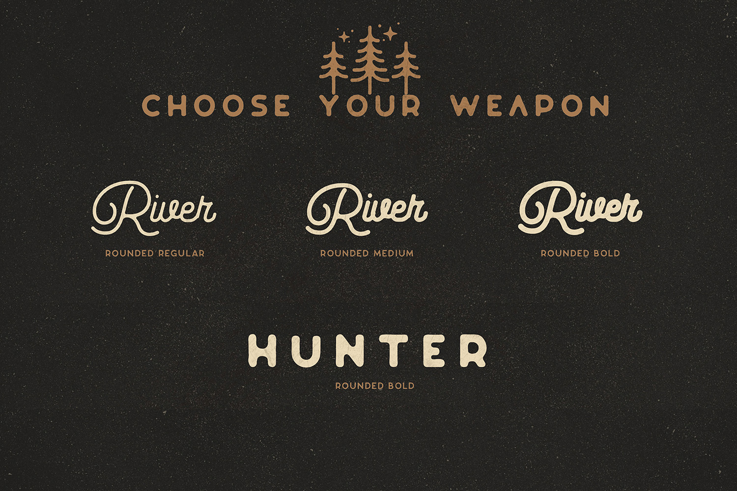 Riverfall Rounded Script and Sans 4 Typeface Ver.1 example image 2