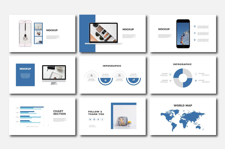 Minimally - Powerpoint Templates example image 5