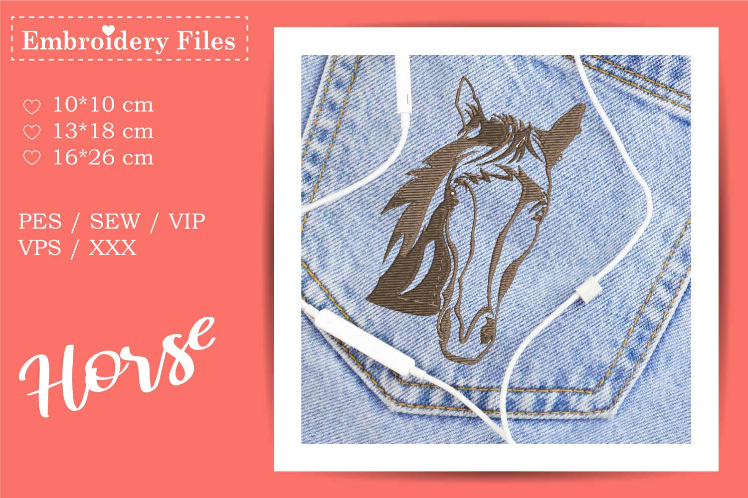 Wild West - Mini Bundle - Embroidery Files for Beginners example image 11