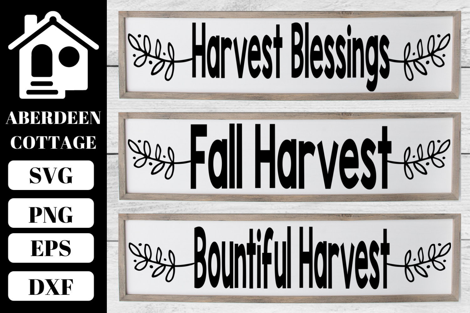 Fall Sign SVG Collection 2 example image 1