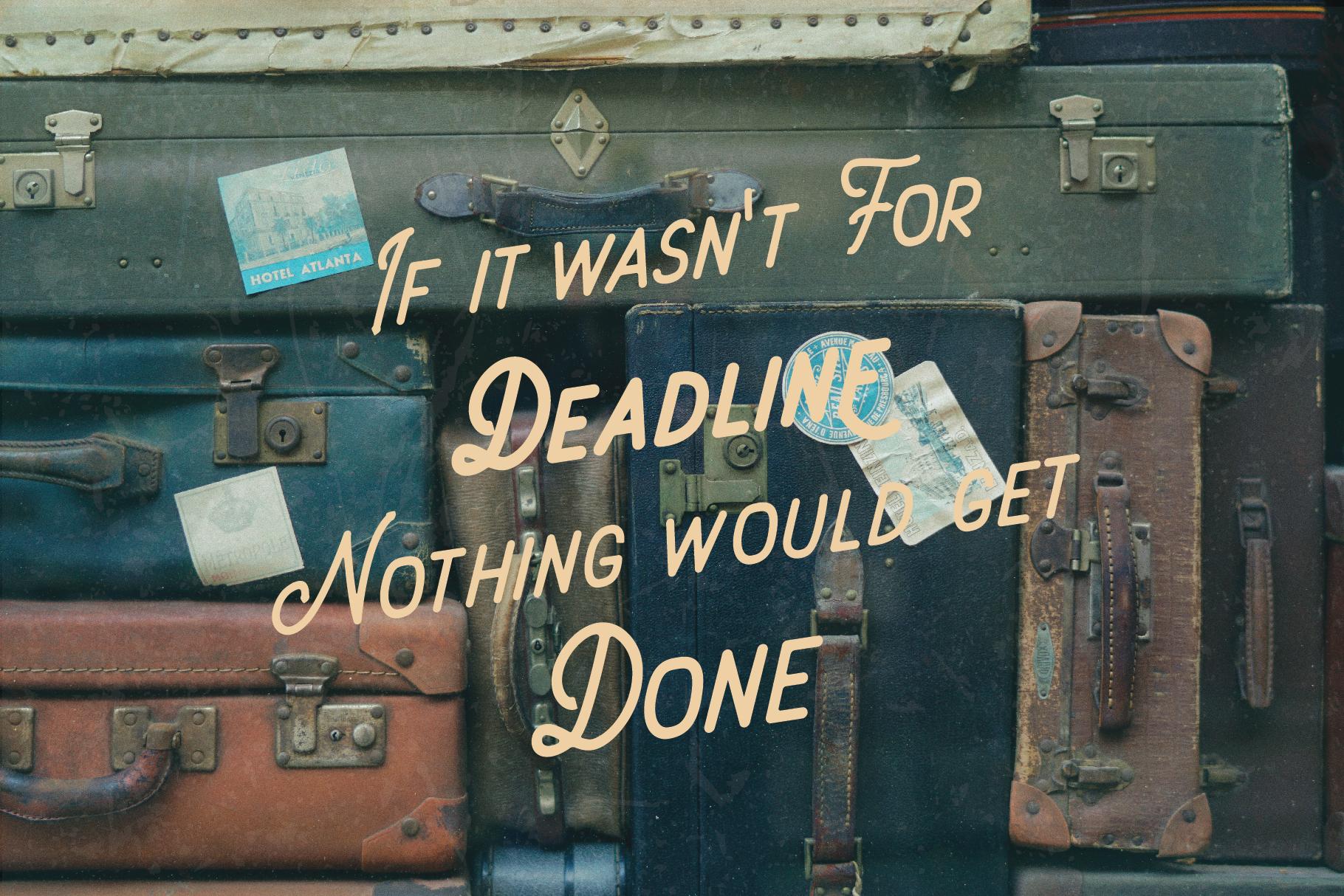 Deadline Font - Sans Serif example image 5