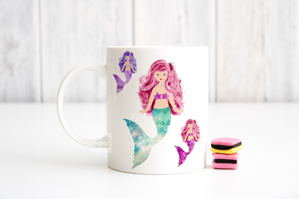 Mug mockup modern sublimation 11oz cup pink mock up stock example image 6