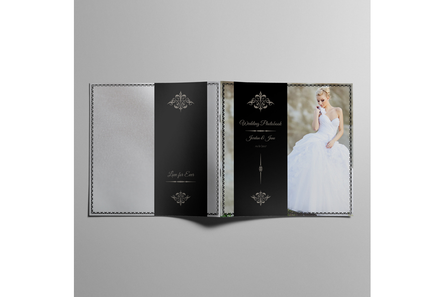 30x30 Square Wedding Photobook example image 5