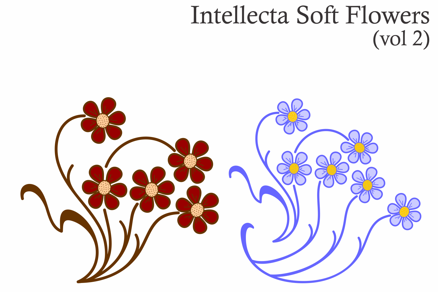 Intellecta Soft Flowers vol 2 example image 5
