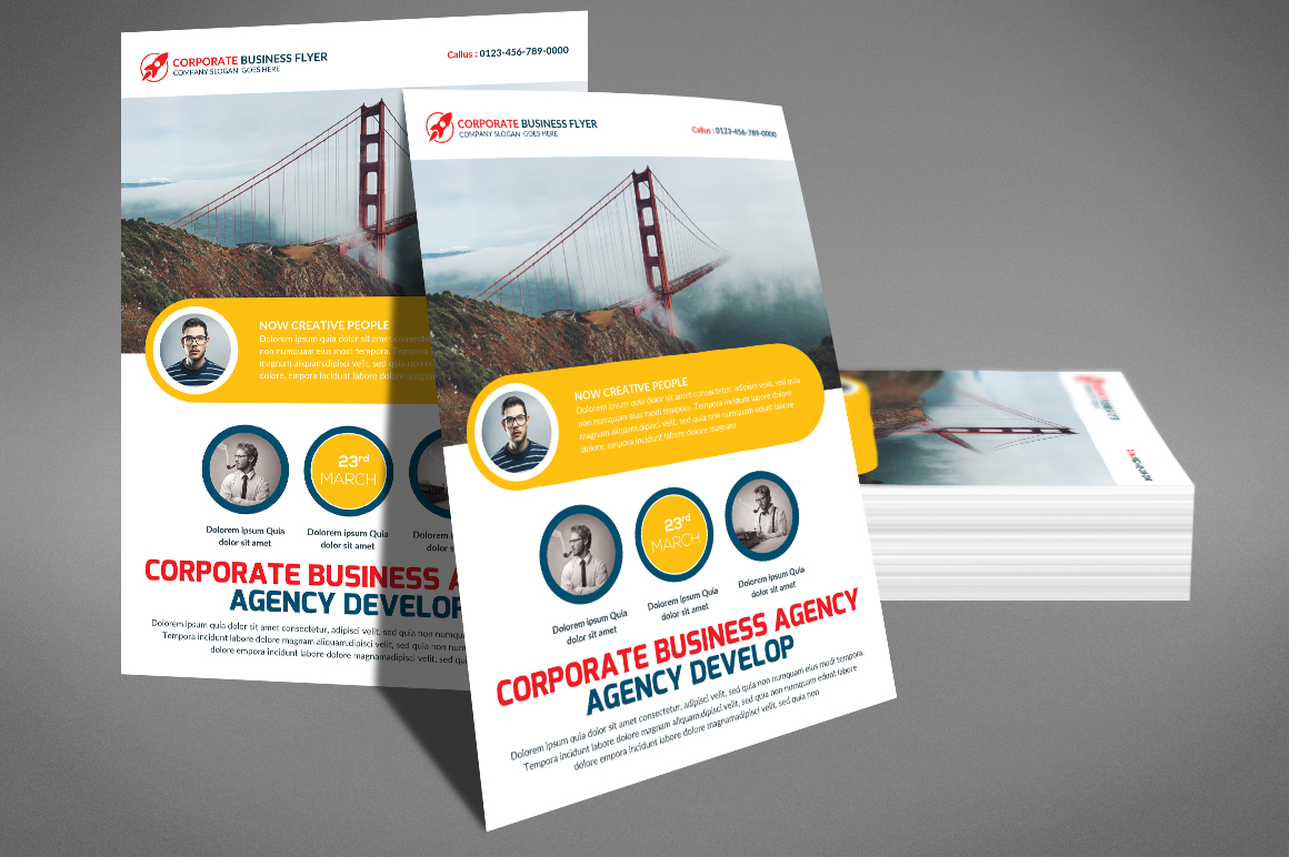 Corporate Business Flyer example image 2