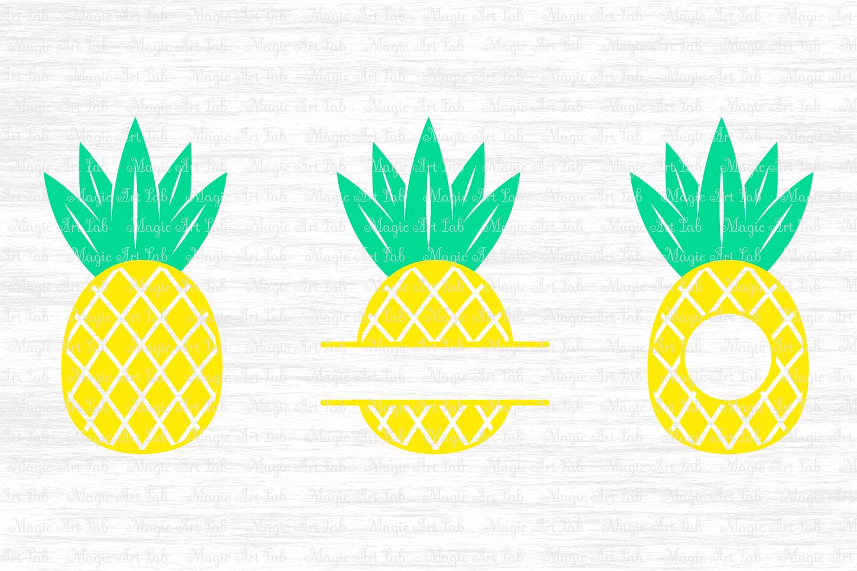 Download Pineapple SVG, Pineapple monogram svg, Pineapple cut file