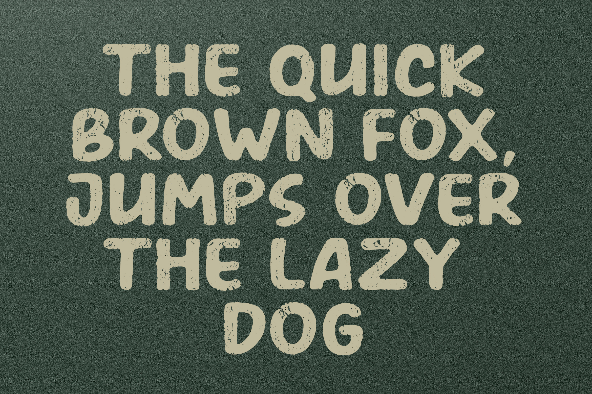 AMERIO Rough Style Font example image 9
