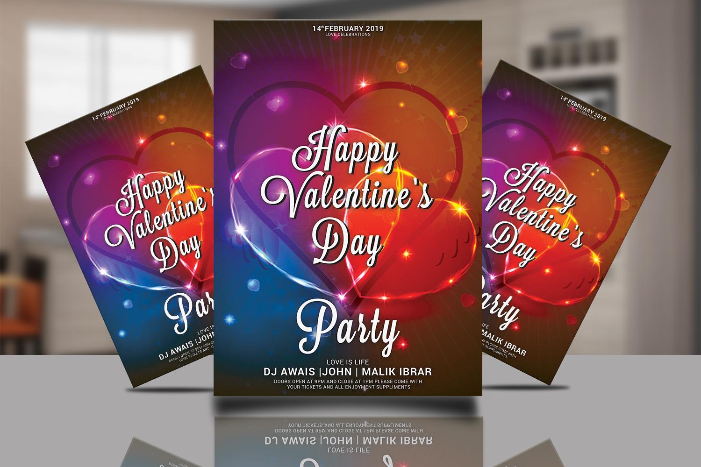 Valentines Day Flyer Bundle example image 7
