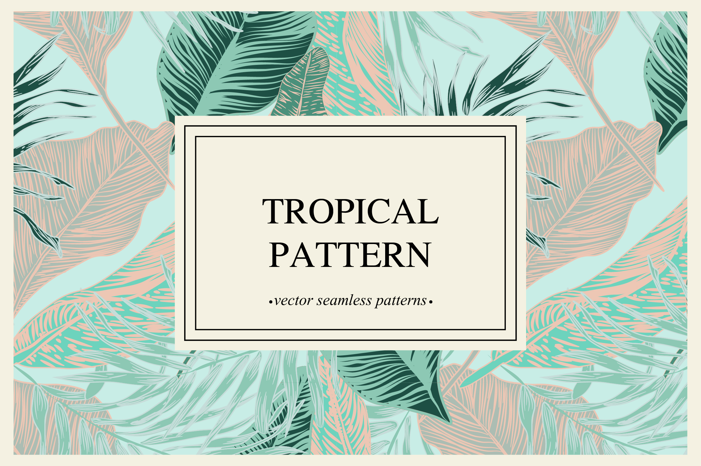 Tropical pattern example image 1