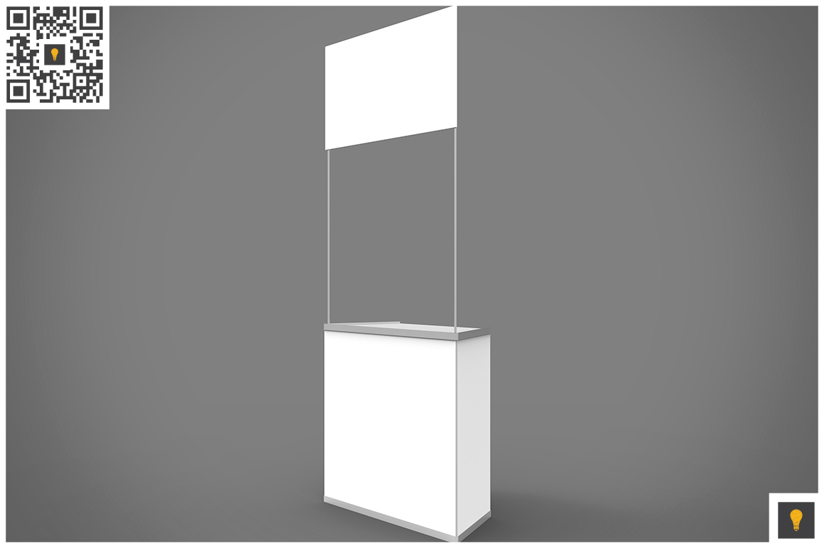 Promo Counter 3D Render example image 5