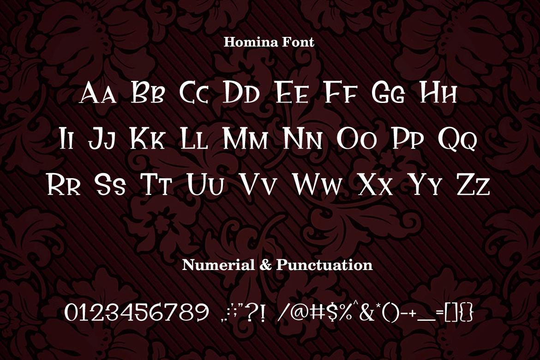 Homina example image 2