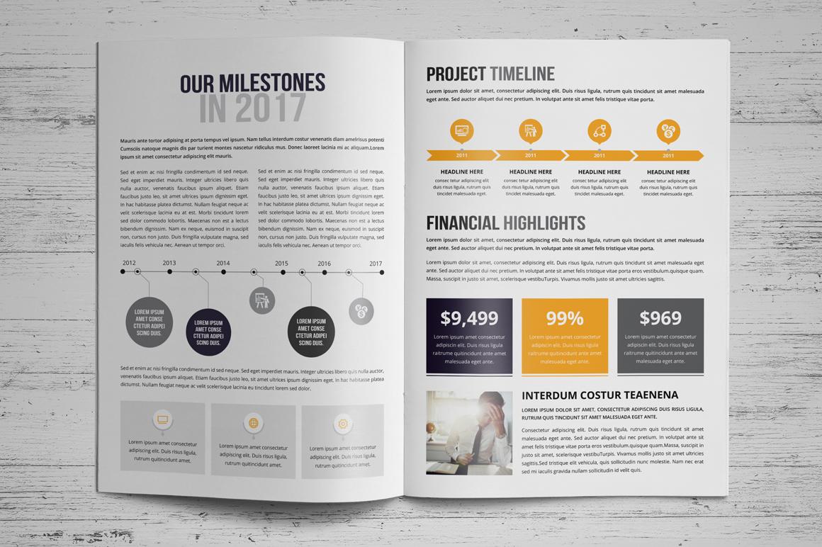 annual report brochure design v3
