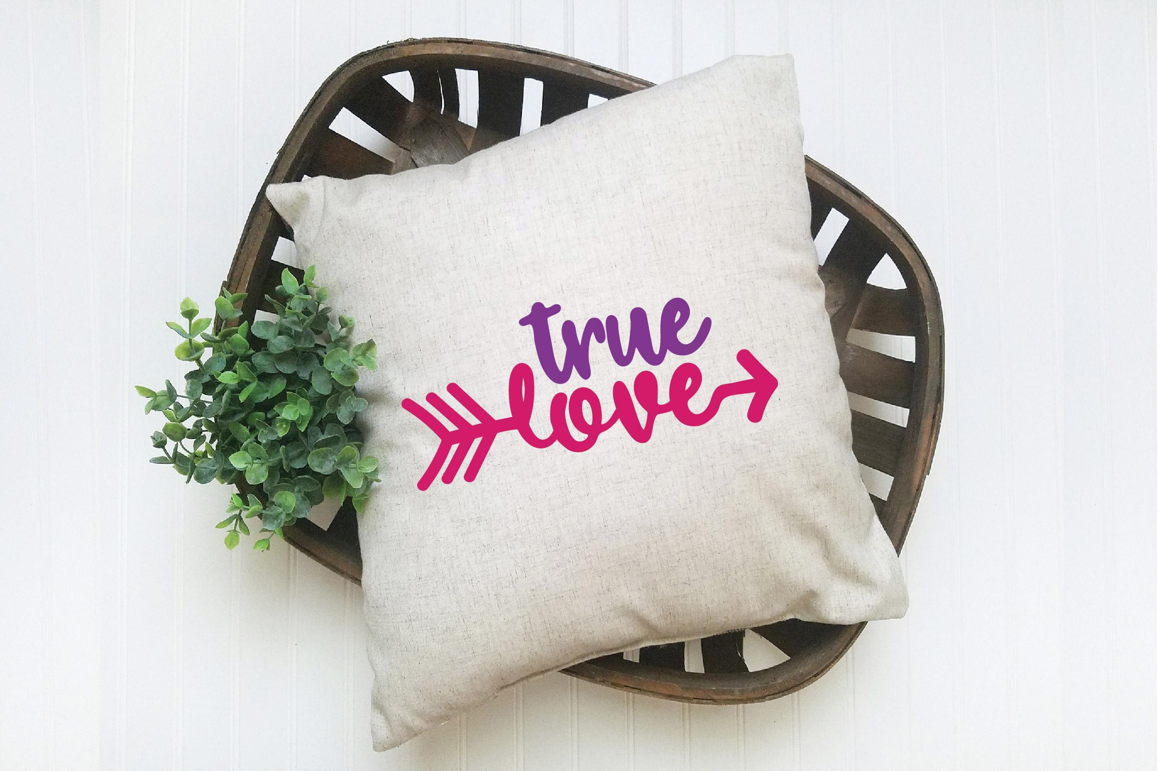 True Love SVG Cut File - Valentine SVG EPS DXF PNG PDF AI example image 6