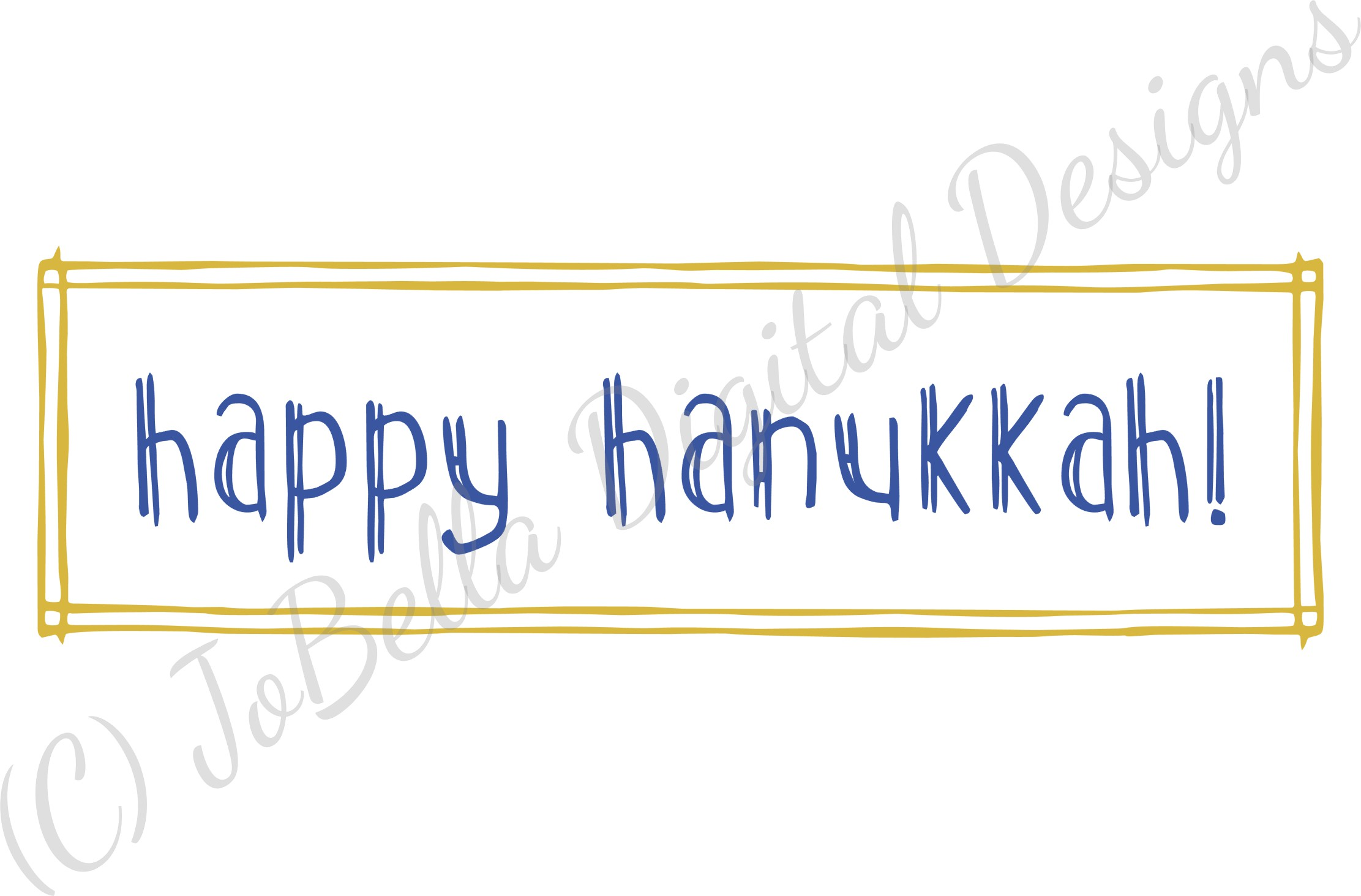 Rustic Happy Hanukkah SVG, Printable and Sublimation P example image 5