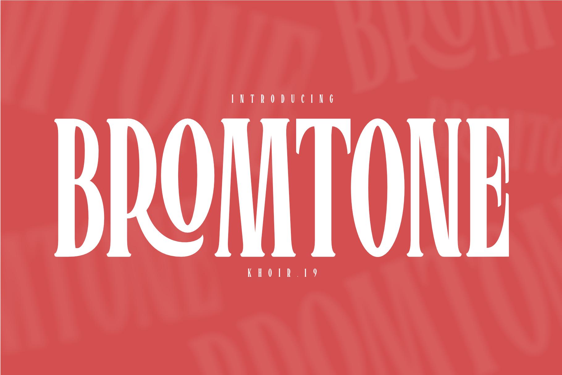 BROMTONE example image 1