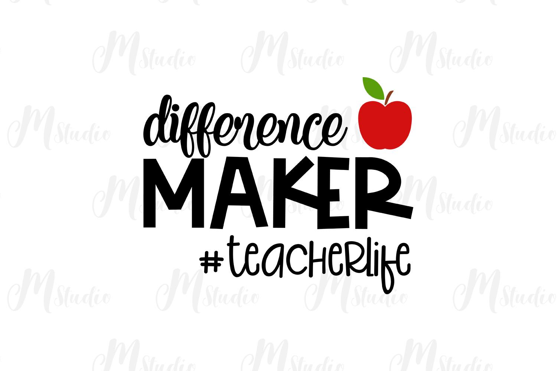 Teacher SVG Bundle. example image 10