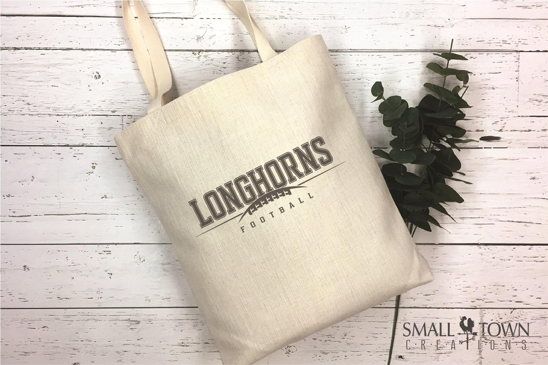 Longhorn, Football Team, Logo, Sport, PRINT, CUT & DESIGN example image 5