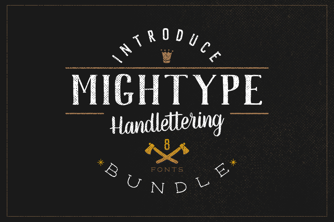 Mightype Handlettering Font Pack example image 2