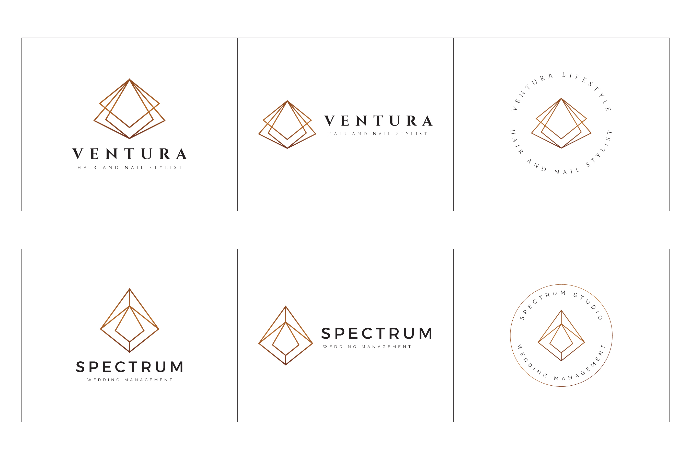 300 Geometric Premade Logo Bundle example image 22