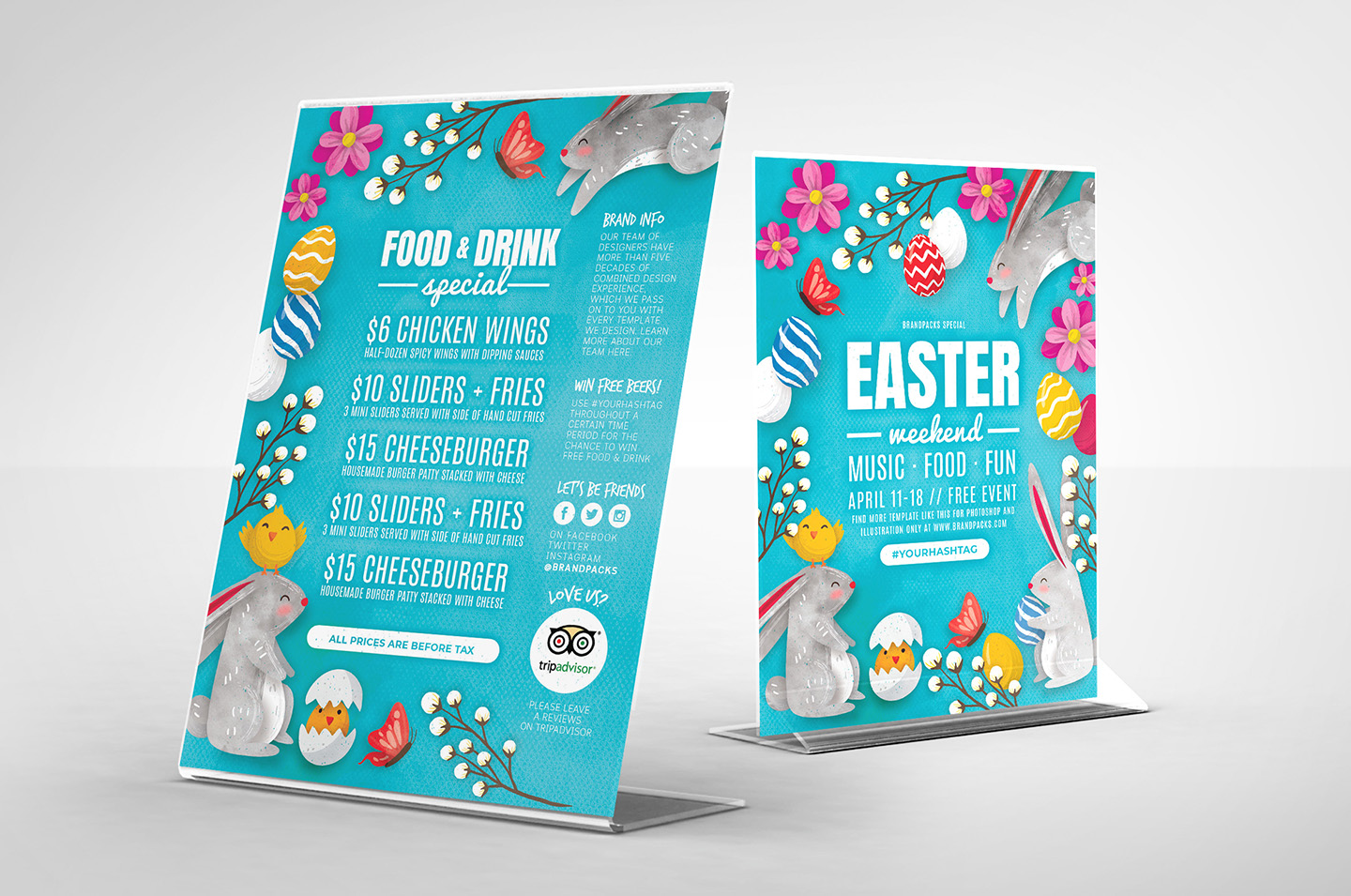 Easter Flyer Templates example image 2