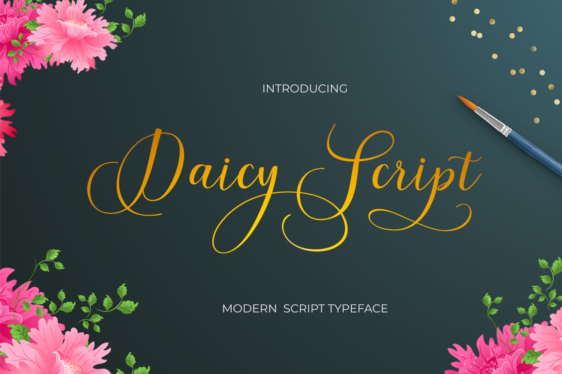 Daicy Script example image 1