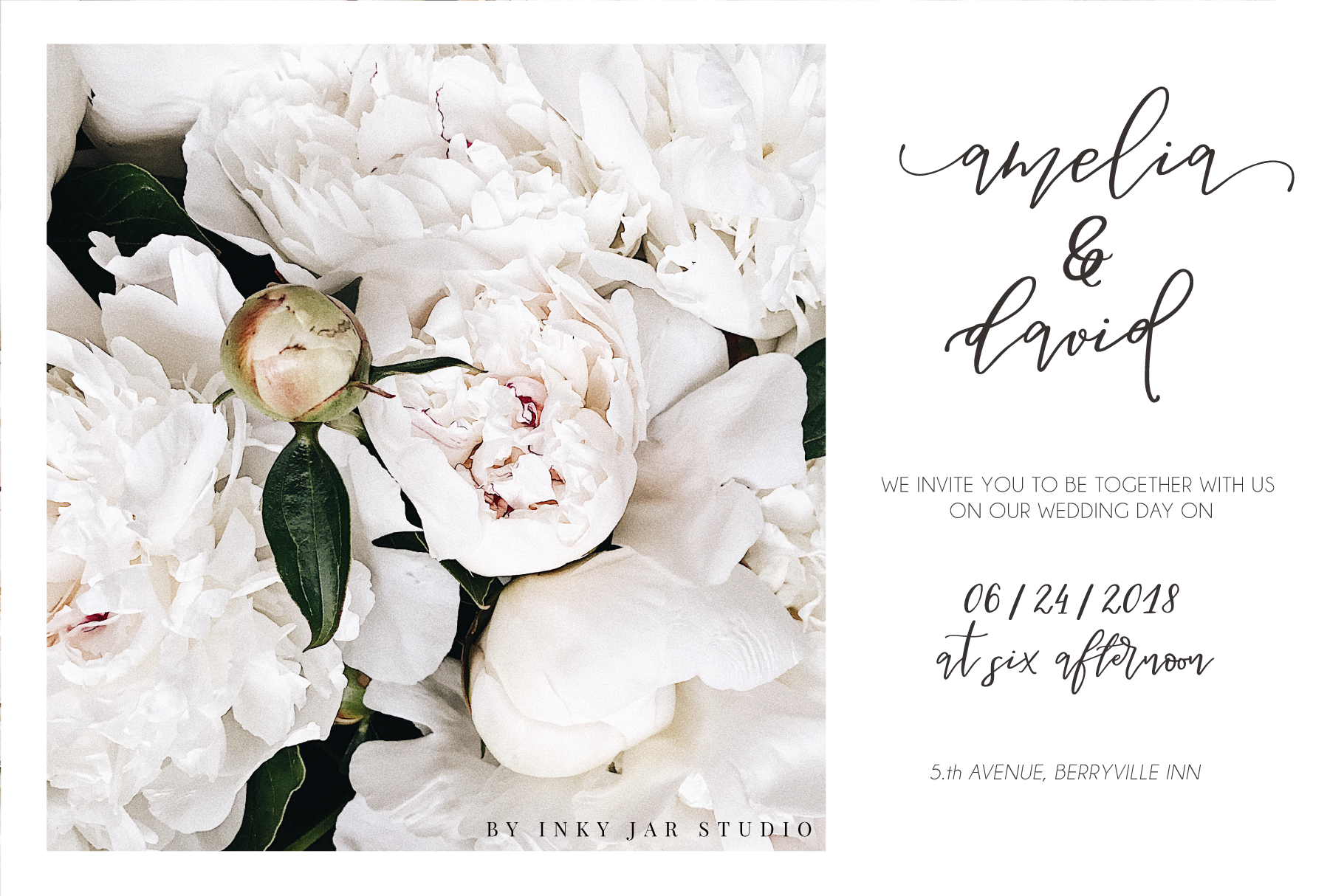 Besotted Modern Calligraphy Script example image 3