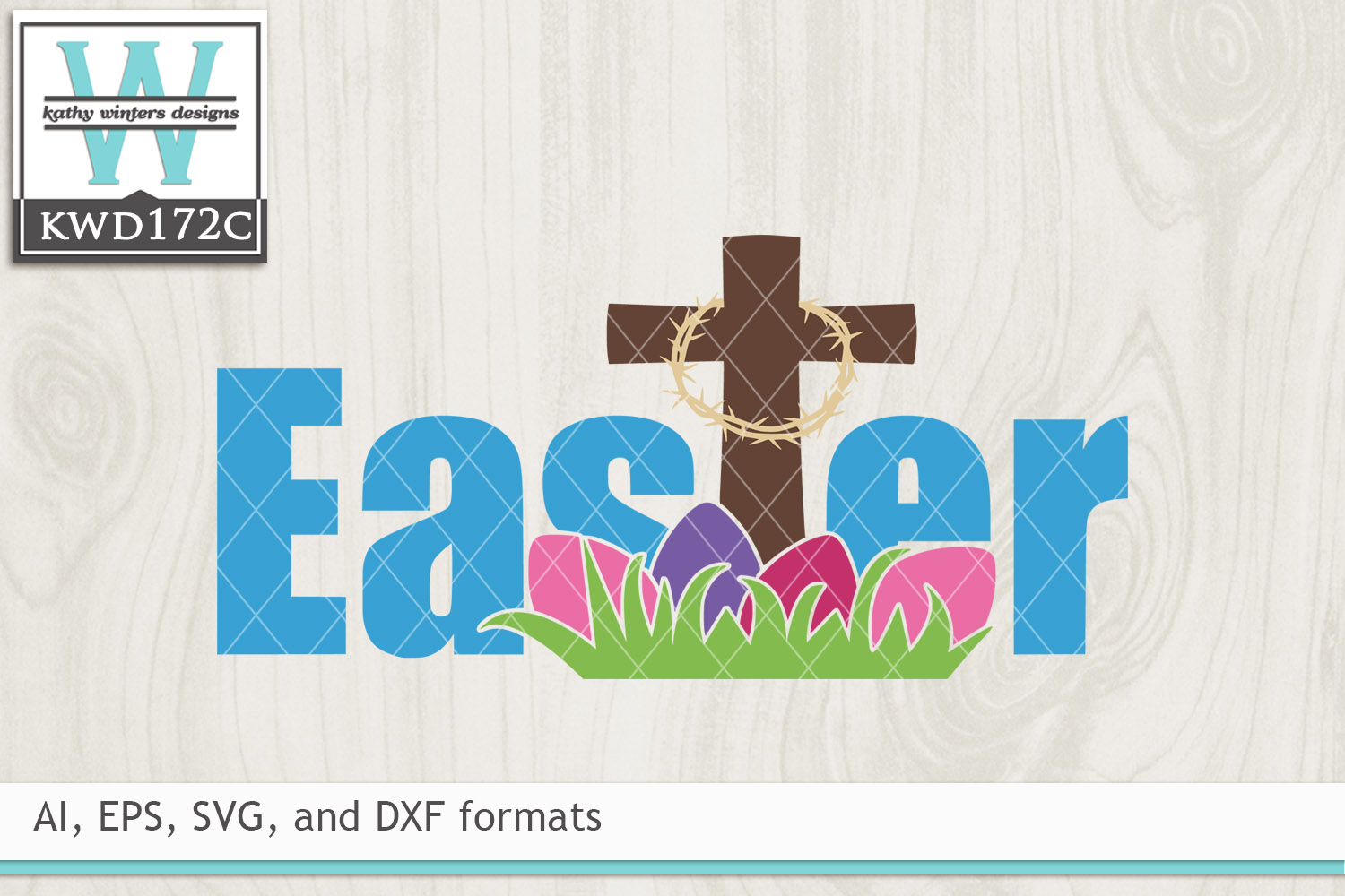 Easter SVG - Easter Cross example image 2