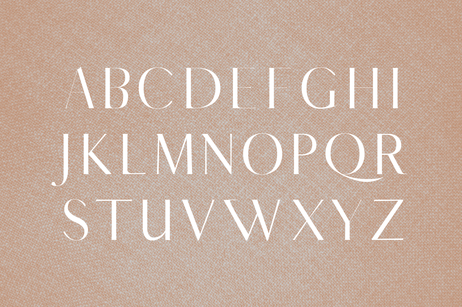 Yessica Sans Serif Font Family example image 2