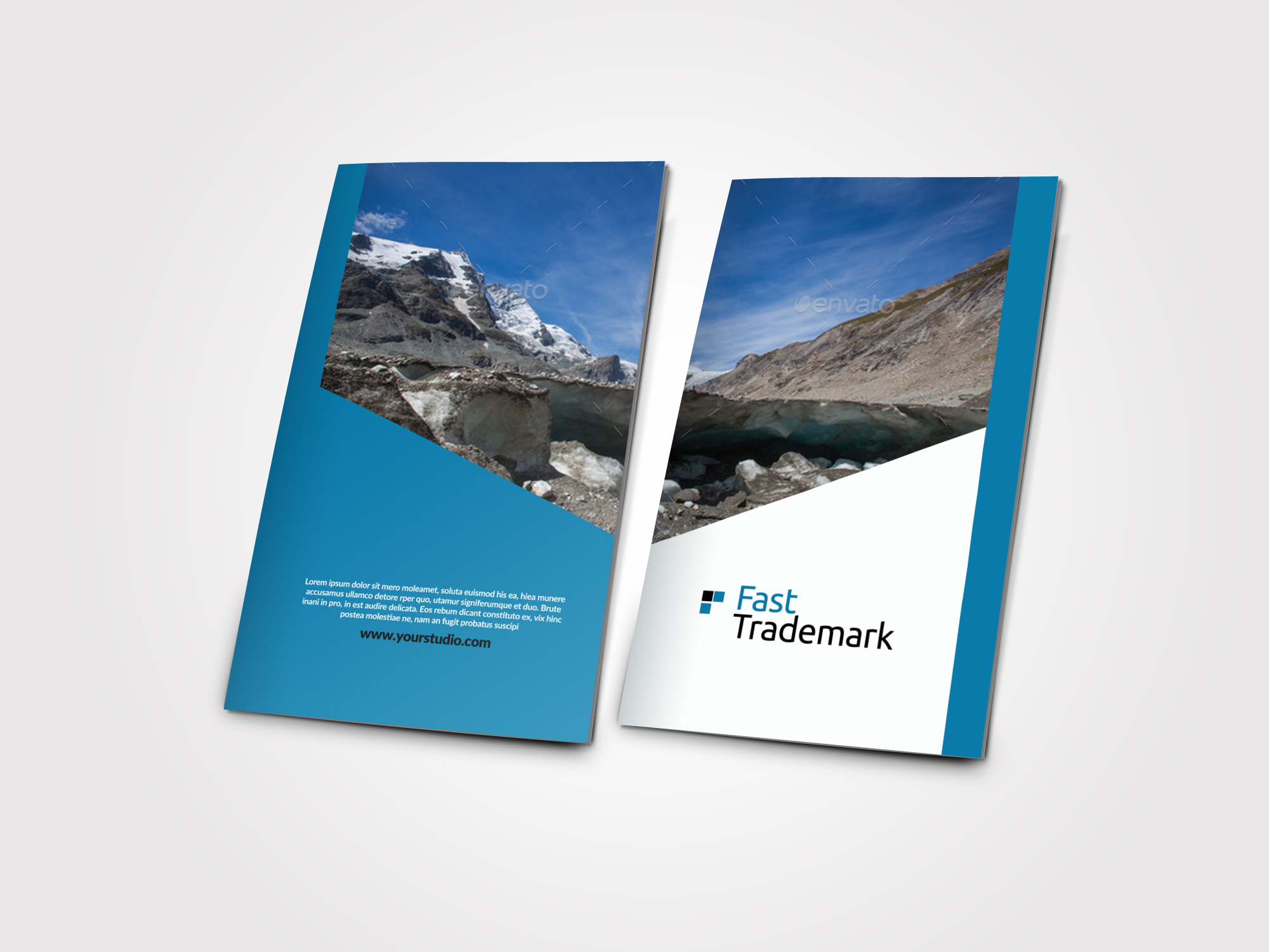 Finance Provider Firm Business Bifold Brochure example image 3