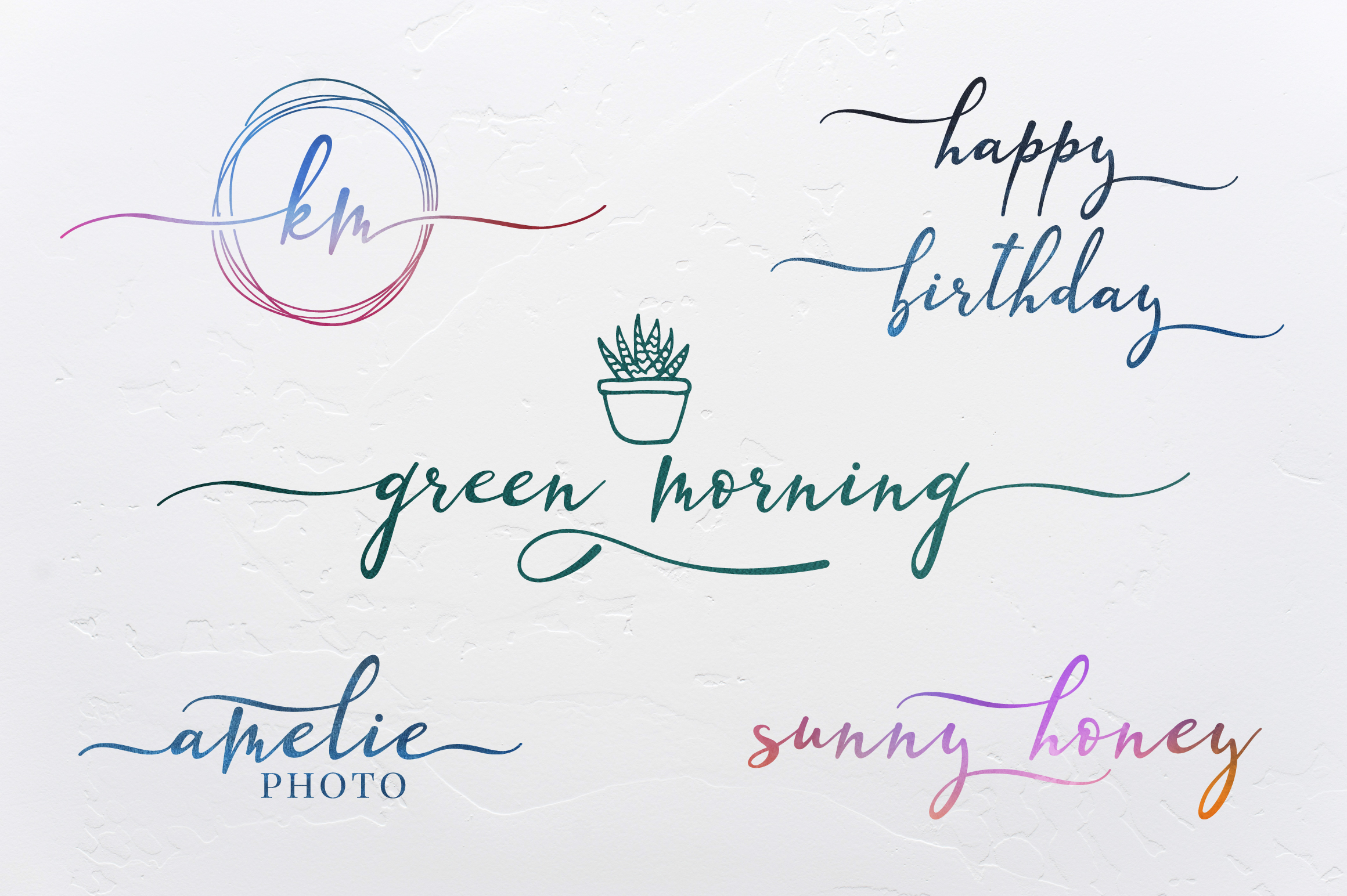 Lazy Daisy - calligraphy font with swashes example image 7