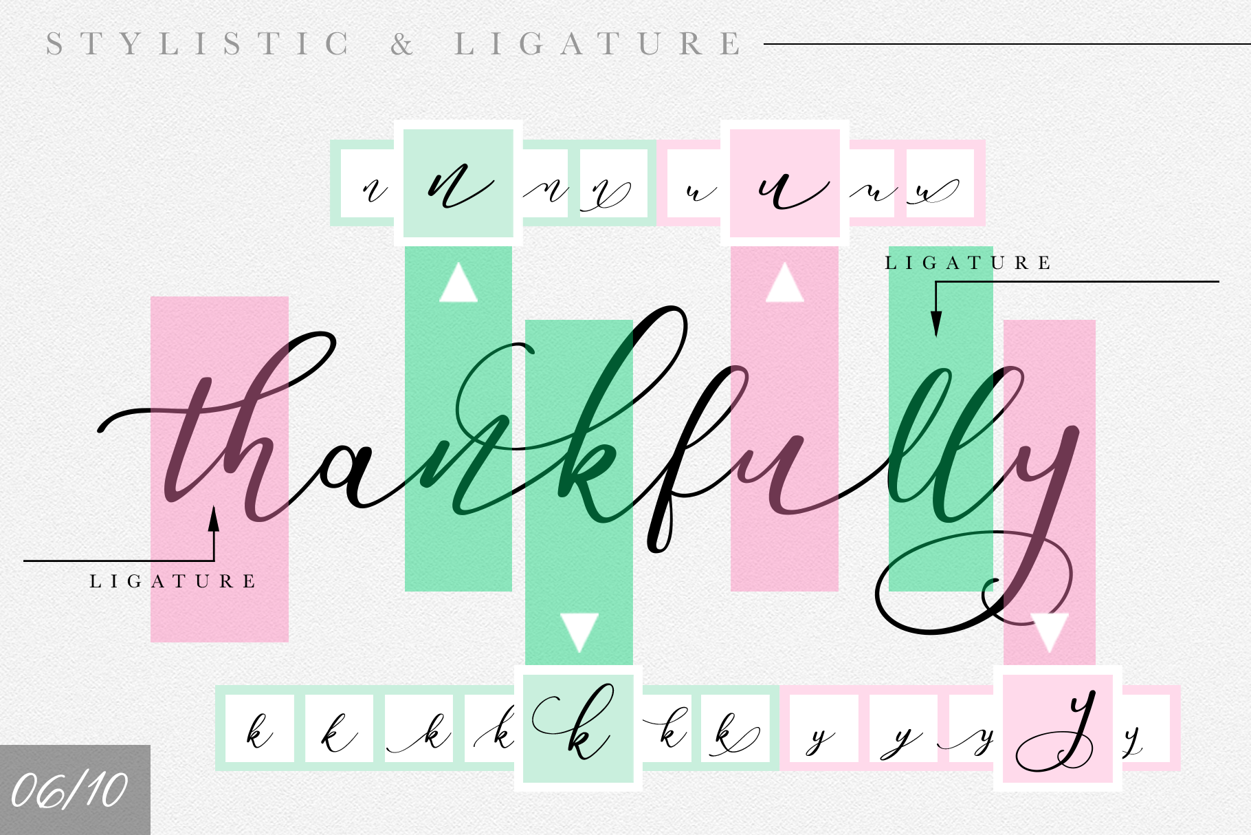 Endita Handwritten Font and Extras example image 12
