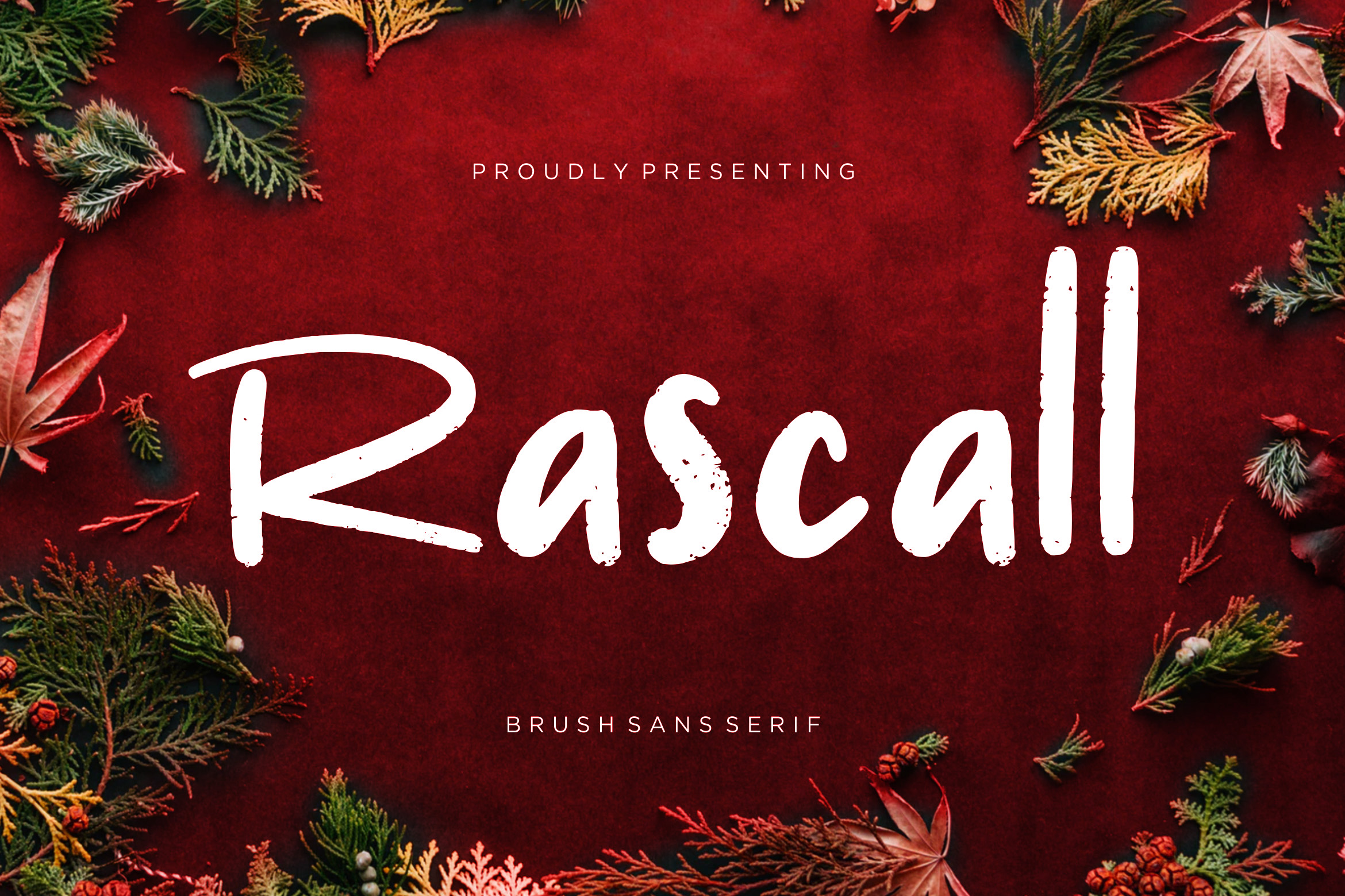Rascall Brush Sans example image 1