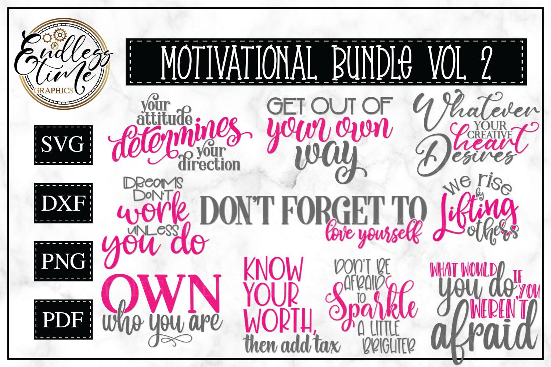 Motivational Bundle Volume 2 - Set of 10 Motivational Quotes example image 1