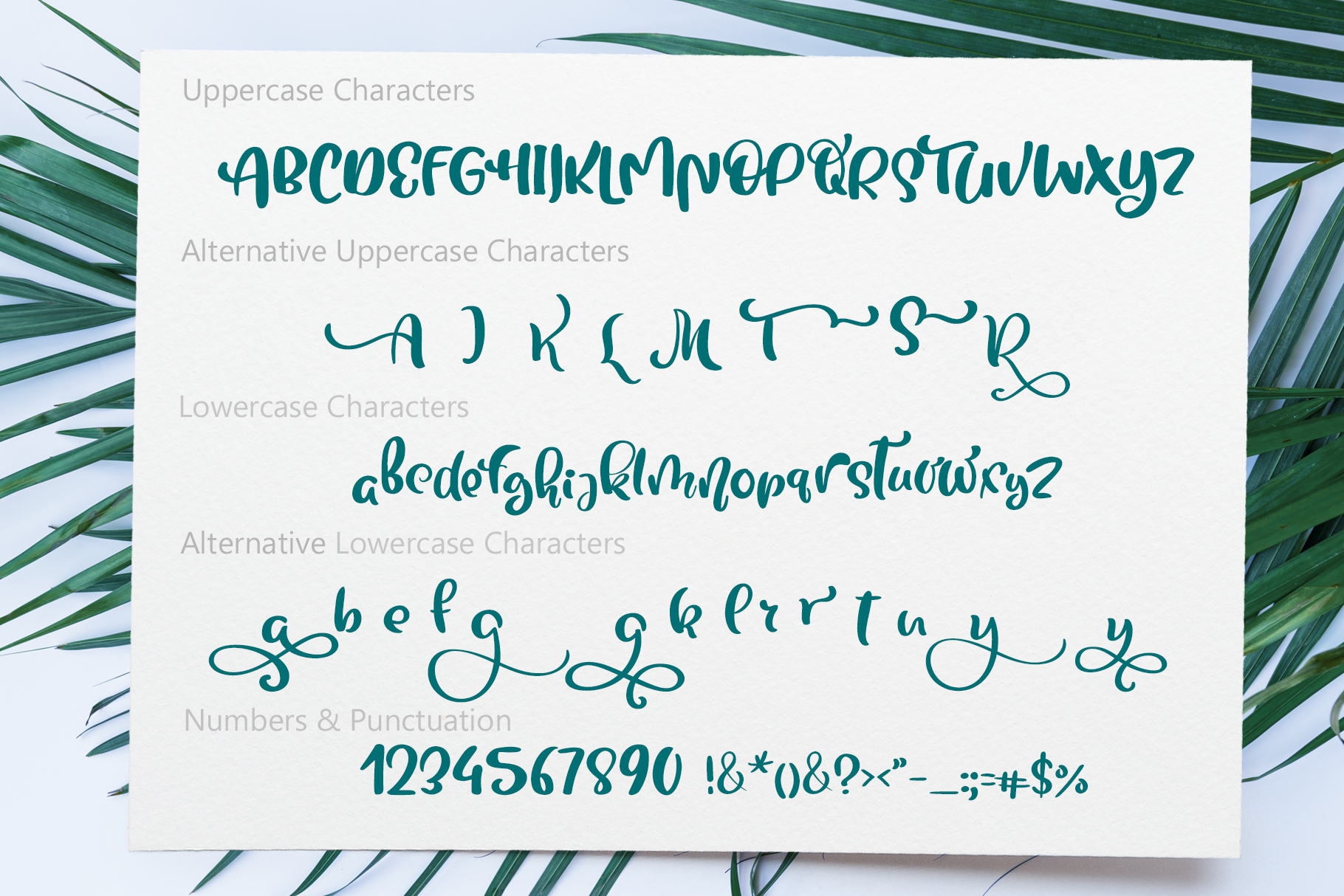 Tropical Summer Font example image 7