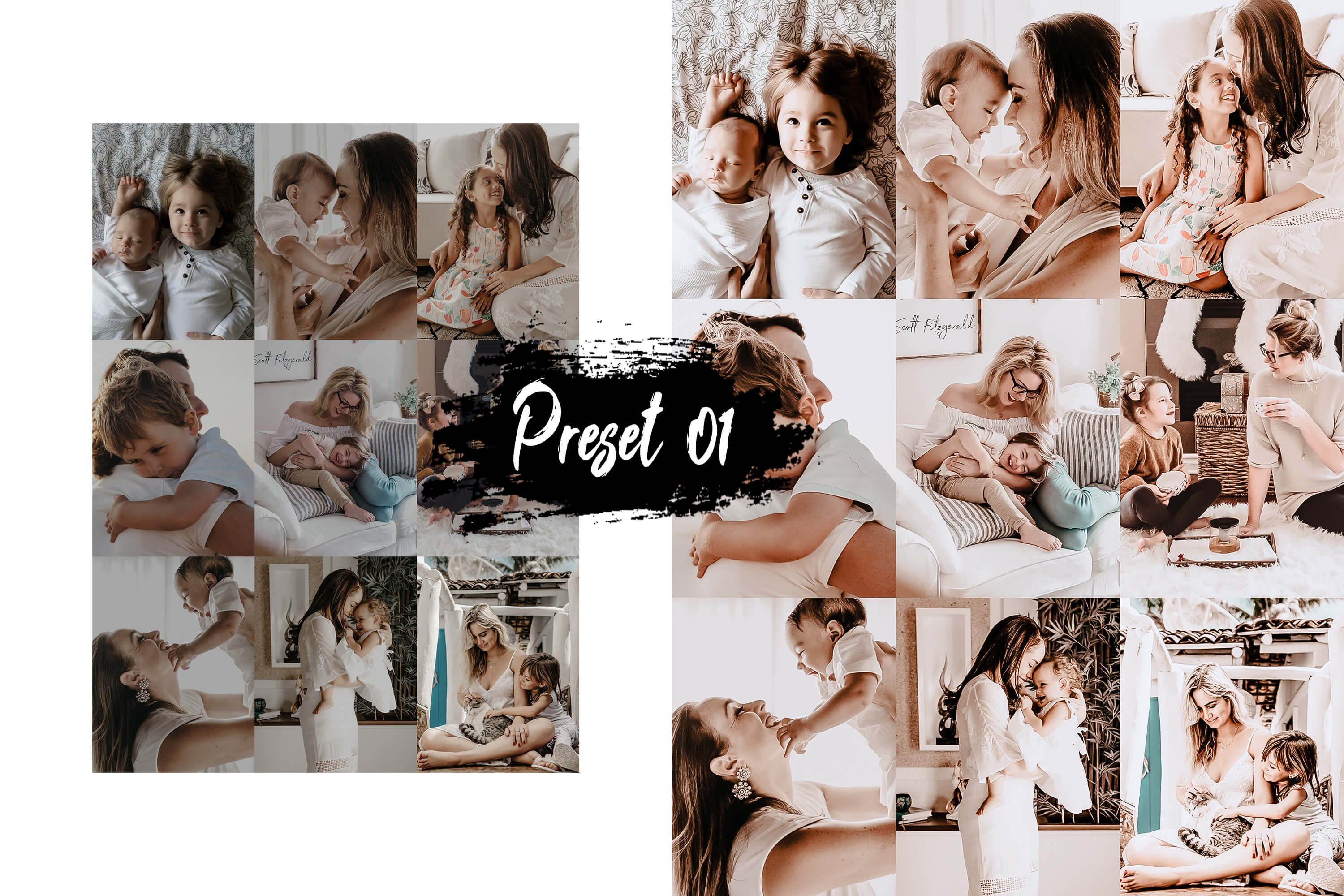 10 Family & Kids Photoshop Actions, ACR and LUT presets example image 3