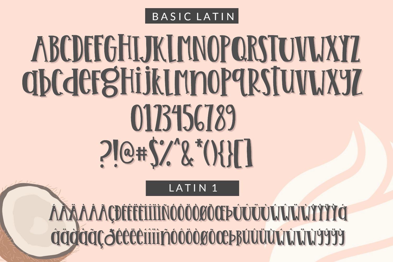 Handwritten Font Bundle - 4 Cut-friendly Fonts example image 7