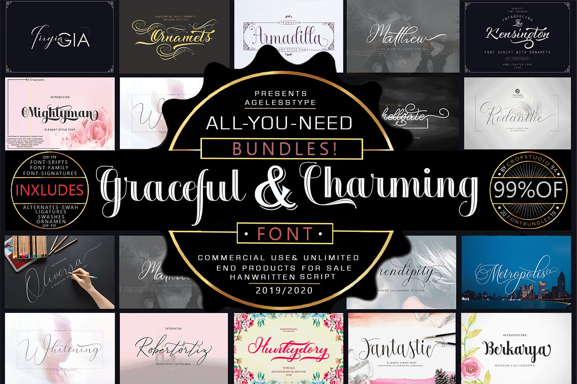 ALL-YOU-NEED BUNDLE! 99 OFF! Graceful & Charming example image 2