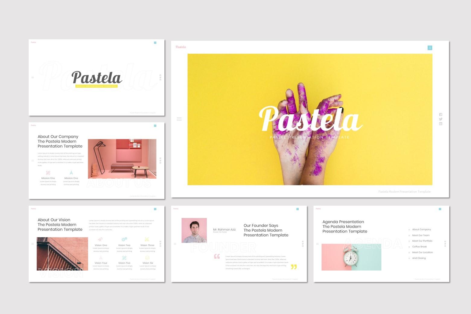 Pastela - Google Slides Template example image 2